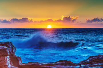 Bold Sunrise Seascape