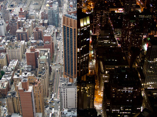 New York Day and Night
