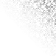 Vector illustration of gray pattern with squares