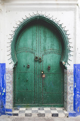 Typical arabic architecture in Asilah.