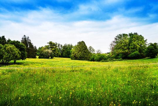 French landscape Haute-Vienne Limousin,France