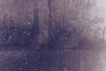 Wall Mural - Dark concrete wall grunge texture