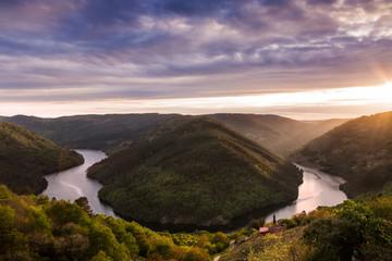 Fototapeten Lavendel Sil river canyons