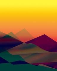 Creative abstract digital painted background, wallpaper, texture. Modern art. Contemporary art