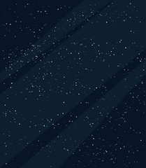 Dark space illustration