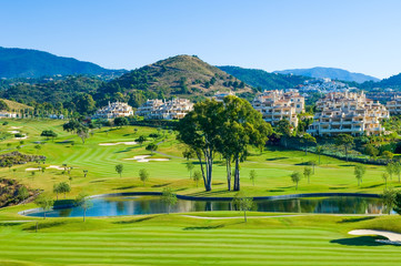 Club de Golf El Higueral, Benahavis, Andalusia, Spain