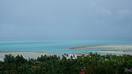 Blick über die Süd-Ost Küste von Ko Samui