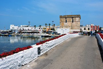 Porto Cesareo, Puglia, Italy the Caesarea Tower