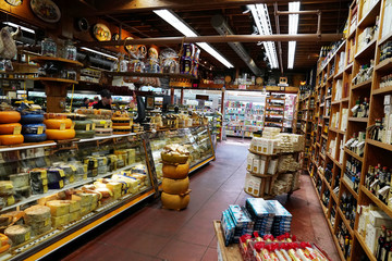 The store, Cheese Boutique, where Meghan Markle shopped according to local media is pictured in Toronto