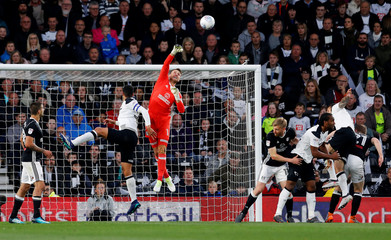 Championship Play Off Semi Final First Leg - Derby County v Fulham