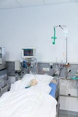 Symbolbild Patient im Narkosesaal