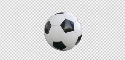 Fußball isoliert.