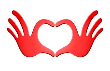 imaginative heart illustration