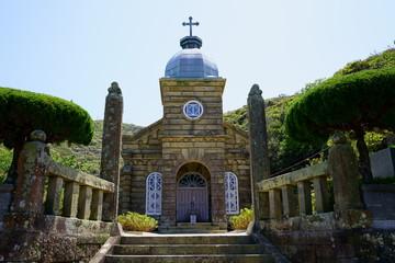 [長崎県]五島列島の頭ヶ島天主堂