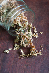Dried parsley in cooking is of great importance