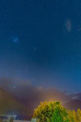 プエルトチャカプコの星空