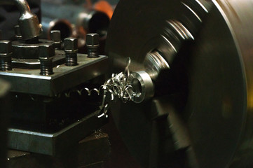 part of the lathe, turning equipment