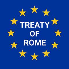 Treaty of Rome illustration