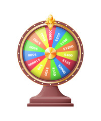 Wheel of Luck or Fortune Wheels Automatic Gambling