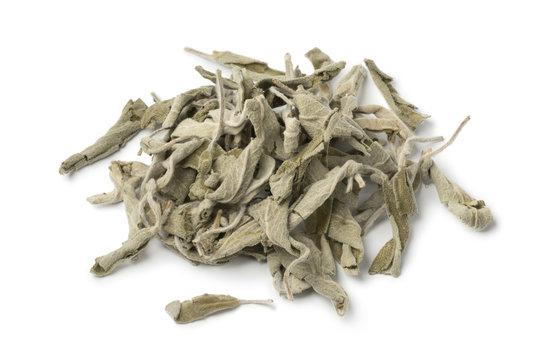 Heap of dried white horehound