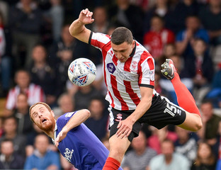 League Two Play Off Semi Final First Leg - Lincoln City v Exeter City