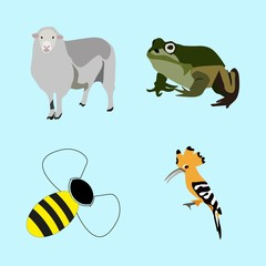 icons about Animal with zoology, zoo, jumping, beautiful and abstract