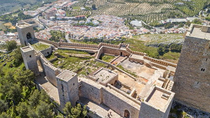 Castillo de Santa Catalina Jaén Fototapete