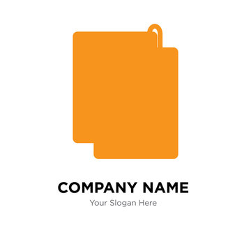appendix company logo design template, colorful vector icon for your business, brand sign and symbol
