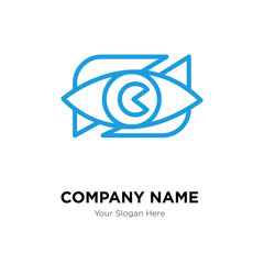 neighborhood watch company logo design template, colorful vector icon for your business, brand sign and symbol