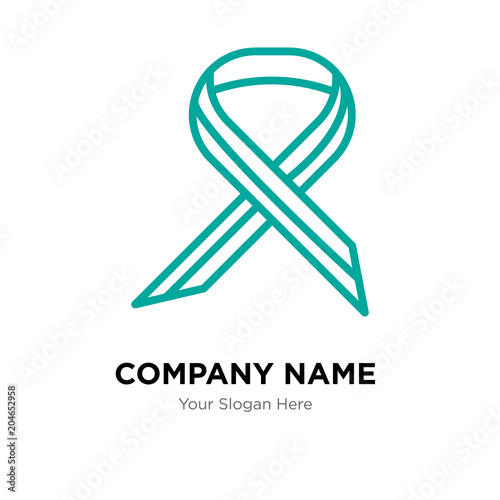 Multiple Sclerosis Company Logo Design Template Colorful Vector