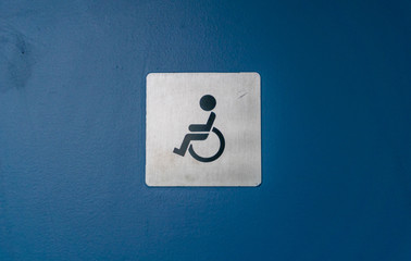 toilet icon for handicapped and wheelchair access