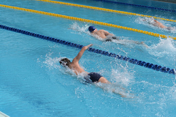 youth swimming competition