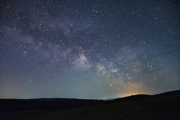 Beautiful night sky milky way photographs