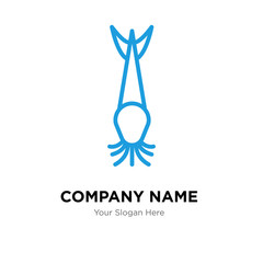 catfish company logo design template, colorful vector icon for your business, brand sign and symbol