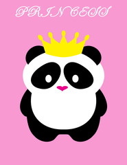 Panda Bear Princess