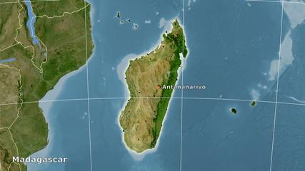 Madagascar, satellite B - composition