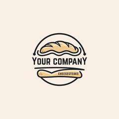 Bread logo vector