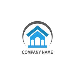 house building company logo
