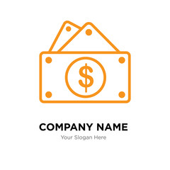 capital expense company logo design template, colorful vector icon for your business, brand sign and symbol