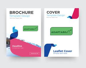 adaptability brochure flyer design template