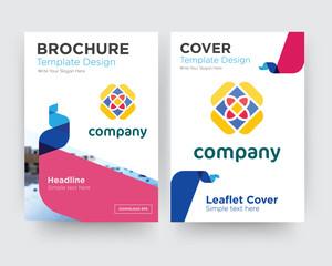 free brochure flyer design template