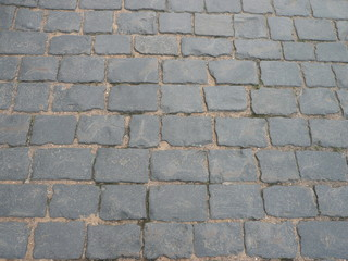 cobblestone square