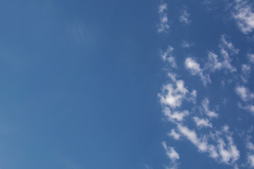 Blue sky and clouds sky, blue sky background, sky panorama