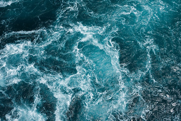 hazardous swirl on the mediterranean sea Wall mural