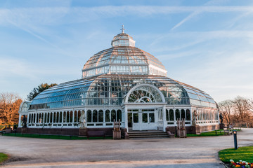 Sefton Park Palm house In Liverpool, UK