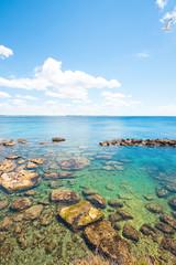 Gallipoli, Apulia - Wonderful water colors at the calming beach