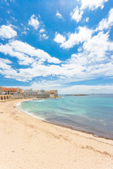 Gallipoli, Apulia - Impressive calmness at the lovely beach of Gallipoli
