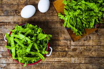 Mangel green cabbage vegetable close up
