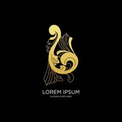 Logo for fashion vector