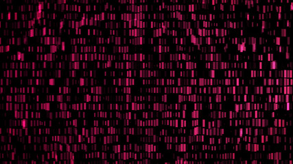 Wall of lights abstract background pink